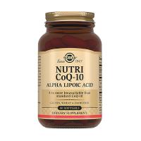 Купить Солгар Нутрикоэнзим q-10 с альфа-липоевой кислотой капсулы №60, США