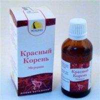 Купить Красный корень флакон 50мл, РОССИЯ