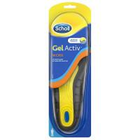 Шолль стельки для активной работы, для мужчин gelactiv