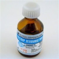 Левомицетин (р-р спирт. 3% 25мл)
