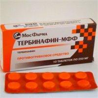 Тербинафин-МФФ (таб. 250мг №10)