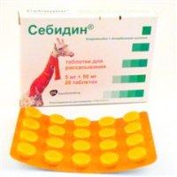 Купить Себидин таблетки №20, Польша