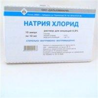 Купить Натрия хлорид (амп. 0, 9% 10мл №10), РОССИЯ