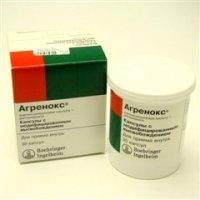 Агренокс (капс. 200мг/25мг №30)