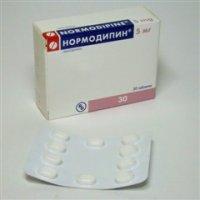 Нормодипин (таб. 5мг №30)