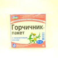 Горчичник-пакет (№10 эвкалипт)