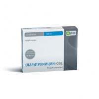 Кларитромицин-OBL таблетки 500мг №14