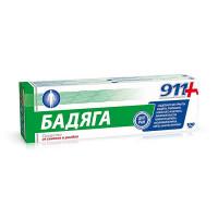 911-Бадяга ср-во от синяков и ушибов (100мл)