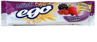 Купить Батончик-мюсли ЭГО (25г (лесн. ассорти в йогурте)), РОССИЯ