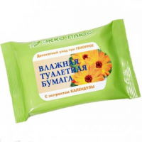 Купить Бумага туалетная влажная (№20 с экстр. календулы), РОССИЯ