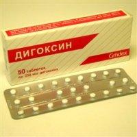 Дигоксин (таб. 0,25мг №50)