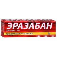 Эразабан крем 10% 2г для наружного применения