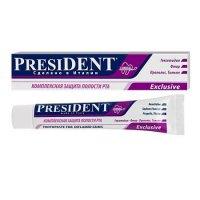 """Зубная паста """"Президент"""" (туба 50г Эксклюзив)"""