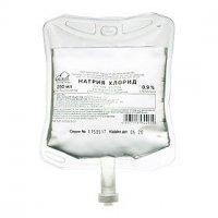 Натрия хлорид (п/пак 0,9% 250мл)