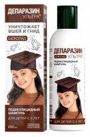 Купить Депаразин-ультра шампунь ср-во педикулиц. (шоколад 200мл), РОССИЯ
