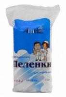 Купить Пеленки однораз.впитывающие Амелия (60х90 №10 д/ухода за взрослыми), РОССИЯ