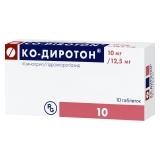 Ко-Диротон (таб. 10мг+12,5мг №10)