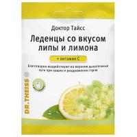 Доктор Тайсс леденцы 50г Липа+Лимон+Витамин С