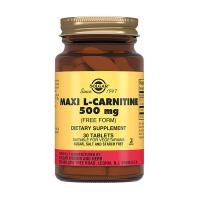 Солгар (L-карнитин 500мг таб.№30)