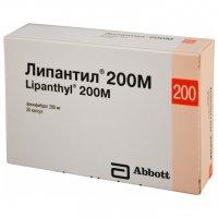 Липантил 200М (капс. 200мг №30)