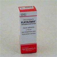 Каталин (таб. №1+р-р 15мл (д/получ. глаз. капель))