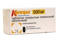 Кеппра (таб. п/о 500мг №60)