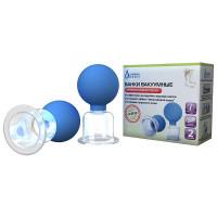 Альпина банки вакуумные полимерно-стеклянные БВ-01-АП антицеллюлитная 2шт.