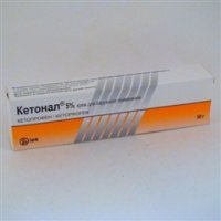 Кетонал крем (туба 5% 50г)