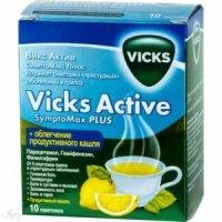 Викс актив симптомакс плюс пакетики порошок №10