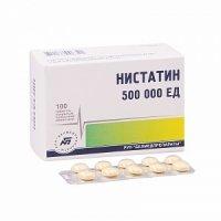 Нистатин (таб. п/о плен. 500ТЕ №100 (блист))