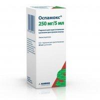 Оспамокс (фл. 250мг/5мл 60мл)