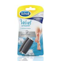 Купить Шолль насадки сменные роликовые для электрической пилки №2 экстра жесткая +экстра мягкая, Великобритания