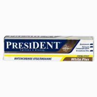 "Зубная паста ""Президент"" (туба 30мл Уайт плюс)"