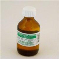 Купить Салициловая кислота (р-р спирт. 2% 40мл), РОССИЯ