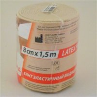 Купить Бинт эластичный (1, 5мх8см), Латвия