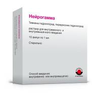 Нейрогамма (р-р в/в 1мл амп.№10)