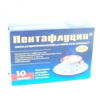 Пентафлуцин(терафлю) (пор. 5г №5)