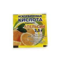 Аскорбиновая кислота порошок 2,5г апельсин