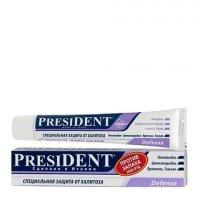 """Зубная паста """"Президент"""" (Дефенс 50мл (от неприят запаха))"""