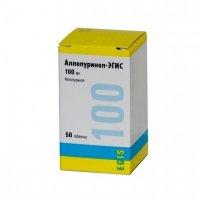 Аллопуринол таблетки 100мг №50