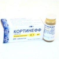 Кортинефф (таб. 0,1мг №20)