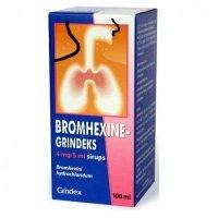 Бромгексин сироп 4мг/5мл 100мл