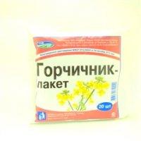 Купить Горчичник-пакет (№20), РОССИЯ