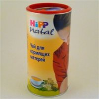 Чай Хипп Natal (бан. 200г д/корм.матерей)