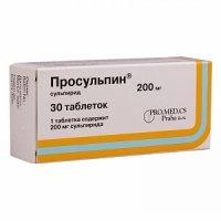 Просульпин (таб. 200мг №30)