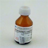 Люголя раствор с глицерином флакон 25г