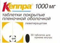 Кеппра (таб. п/о 1000мг №30)