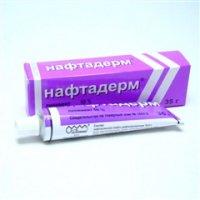 Нафтадерм линимент (туба 10% 35г)