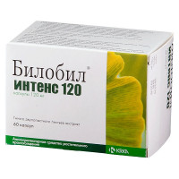 Билобил интенс 120 (капс. 120мг №60)