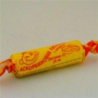 Купить Аскорбиновая к-та с сахаром (крутка №10 (апельсин)), РОССИЯ